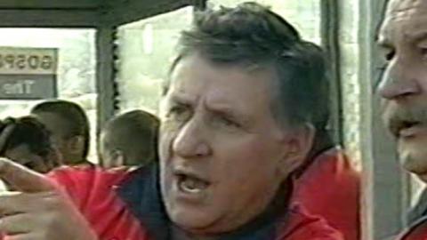 Polska - Ukraina 3:0 (05.10.2001) Lesław Ćmikiewicz