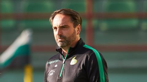 Marcin Węglewski (trener GKS Bełchatów, 2020).