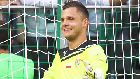 Rafał Gikiewicz (Śląsk Wrocław - Legia Warszawa 1:1, k. 4-2, 12.08.2012).