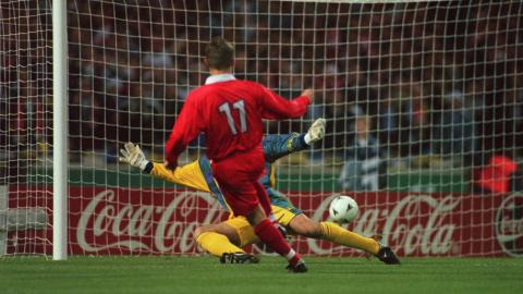 anglia - polska (09.10.1996)